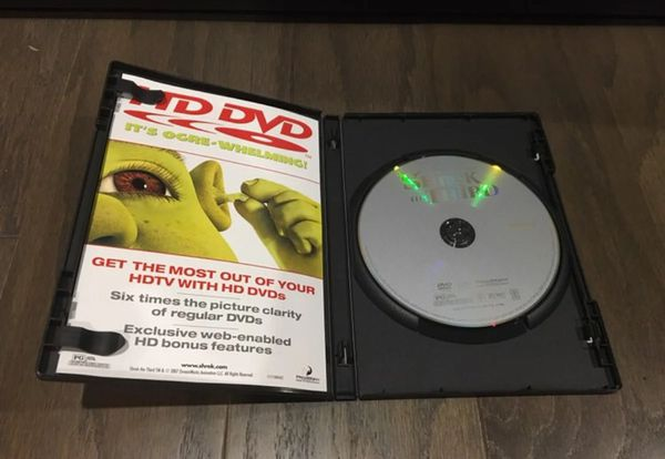 Shrek The Third With Case DVD