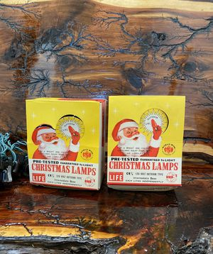 Vintage Sears, Roebuck, And Co Outdoor Christmas Lights for Sale in Fort Worth, TX