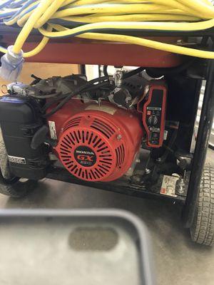 Gas powered generator Dayton Honda 6500 for Sale in Denver, CO