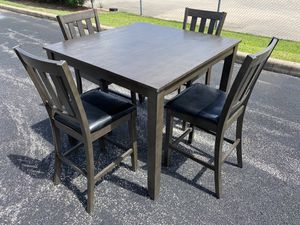 Bar height dining table with chairs for Sale in Houston, TX