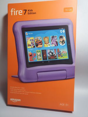 Amazon Fire Tablet 7 Kids Edition purple Latest model with Kids Proof case for Sale in Miami, FL
