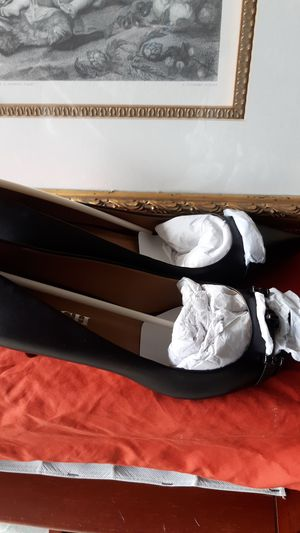 Coach black heels Shoes Lauri Silky 9.5 4A01533-BBK for Sale in Oceanside, CA