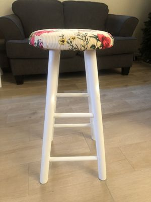 Shabby chic bar stool for Sale in Visalia, CA