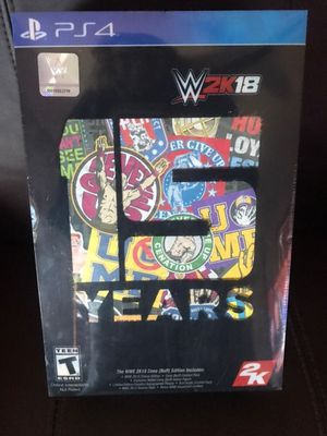 WWE 2K18 Cena (Nuff) Edition - PS4 NEW & Sealed! for Sale in Dubuque, IA