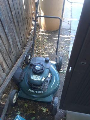 Craftsman lawn mower for Sale in Sandy, UT