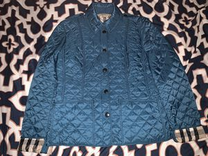 Burberry Brit Blue Quilted Jacket for Sale in El Monte, CA