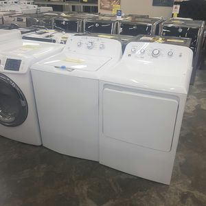 NEW GE Top Load Washer Dryer Set FACTORY WARRANTY for Sale in Ontario, CA