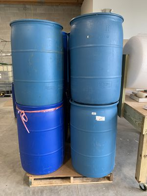 55 gallon drums for Sale in Melbourne, FL