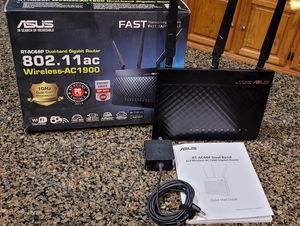 Asus RT-AC68P AC1900 dual band 802.11AC Gigabit router for Sale in Port Orchard, WA