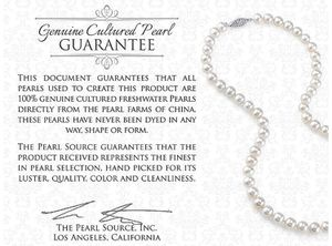 Pearl Necklaces+ Certificate +box for Sale in Washington, DC
