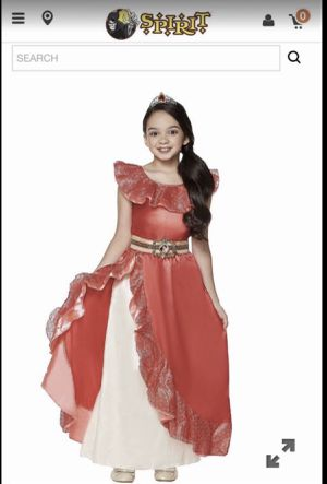 Elena of avalor girls costume size 9/10 for Sale in San Diego, CA