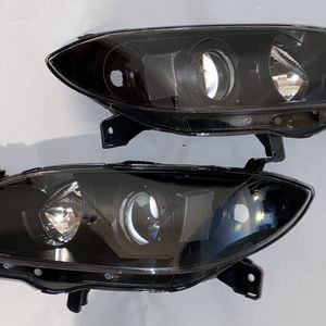 04 -09 Mazda 3 4DR Pair Of Headlights Luces Farros Black Clear Lens for Sale in Lynwood, CA