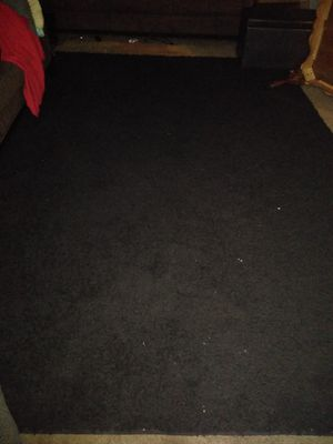 Black Area Rug 10 foot by 7 foot for Sale in TN, US