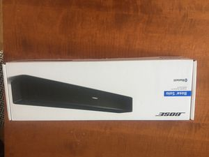 Bose solo tv speaker Bluetooth for Sale in Buckhannon, WV
