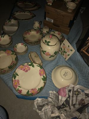 Antique large set of Franciscan USA Desert Rose China for Sale in West Hollywood, CA