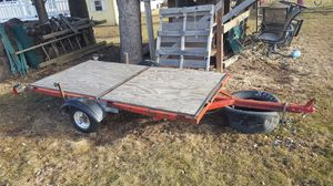 Foldable trailer for Sale in Austin, MN