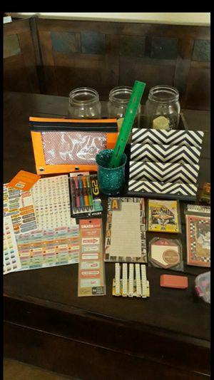 Desk/ Stationary/ calendar supply bundle for Sale in Glendora, CA