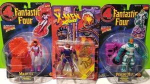 Marvel 1996 Fantastic Four + 1995 Xmen Action Figure Lot (You get all 3) for Sale in Reinholds, PA