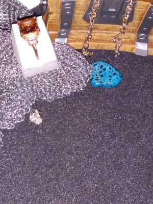 Untested gold and brownish stone ring for Sale in Litchfield Park, AZ