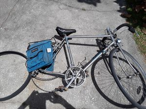 Miyata Ninety Road bike, 58cm triple butted frame, lights with generator. Just needs rear wheel. $100 firm. for Sale in Wesley Chapel, FL