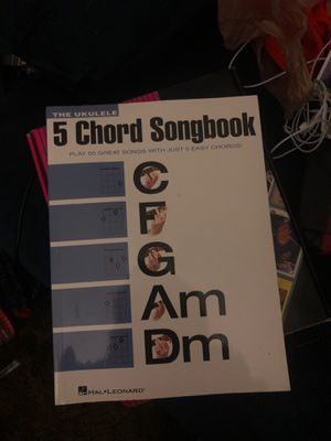 5 Chord Ukulele Songbook for Sale in Chillicothe, IL