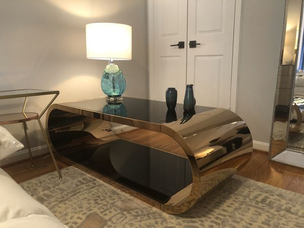 Chrome Coffee Table - brand new!