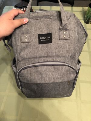 Grey diaper backpack for Sale in Silver Spring, MD