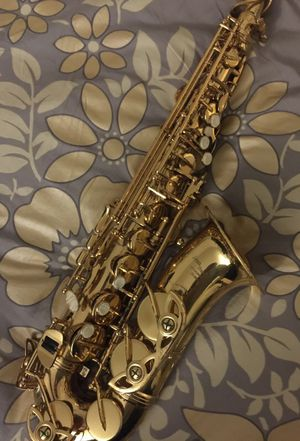 USED ALTO SAXOPHONE, GOOD CONDITION, COMPLETELY FUNCTIONAL for Sale in San Jose, CA