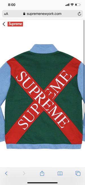 Supreme Cross Half Zip Sweatshirt for Sale in Yonkers, NY