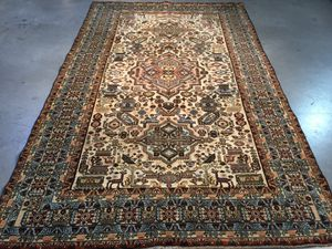 Authentic Vintage Persian Ardebil Rug 5.5X8.5 for Sale in Sterling, VA