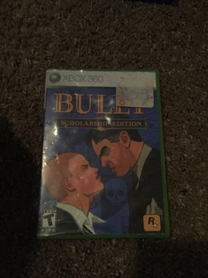 The game bully for Xbox 360 but works on Xbox one for Sale in Temple, GA