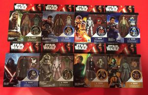 Eight (8) Star wars action figure collection - 1st Wave Toys Episode 7 on 09/2015 for Sale in Riverview, FL