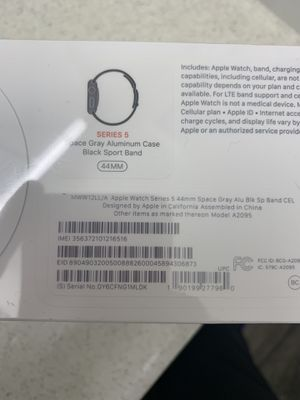 Apple Watch 5 for $350 never been open for Sale in Maricopa, AZ