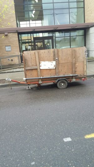 Awesome Almost Brand New Car Trailer for Sale in Portland, OR