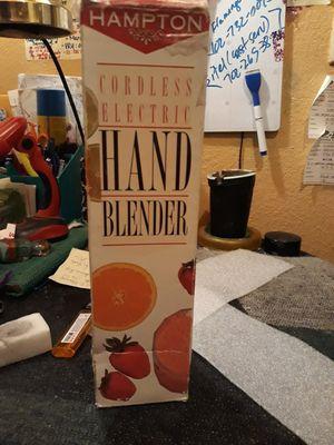 Hampton cordless hand blender for Sale in Las Vegas, NV