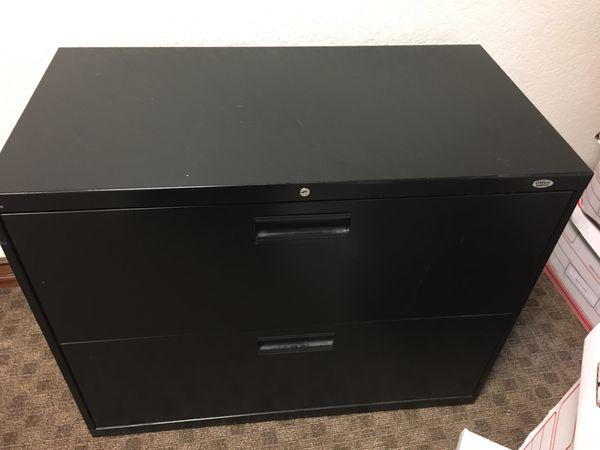 2 drawer metal cabinet