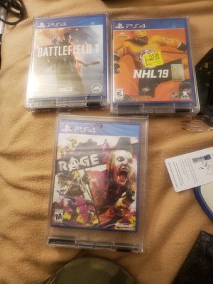 PS4 Games for Sale in Albuquerque, NM