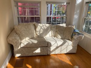 2 sofas (2 and 3 seater sofa bed) for Sale in Buffalo, NY