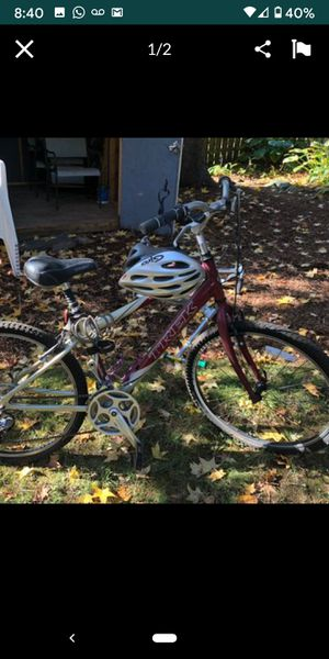Excellent condition TREK BIKE trade with Suspension MOuntain BIKE for Sale in GREYSTONE PARK, NJ