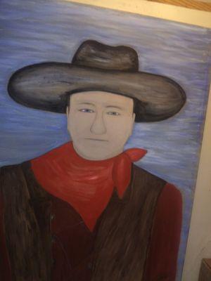 John Wayne painting for Sale in Soperton, GA