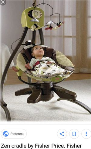 Fisher Price Swing/cradle in one~Zen collection for Sale in St. Peters, MO