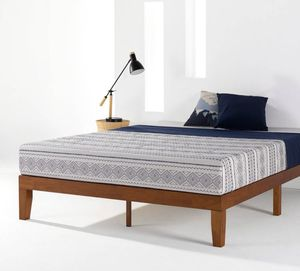 Full Size Soild Wood Platform Bed Frame - New! for Sale in Plainfield, IL