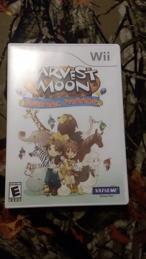 Harvest Moon animal Parade Nintendo Wii complete in box for Sale in Waterbury, CT