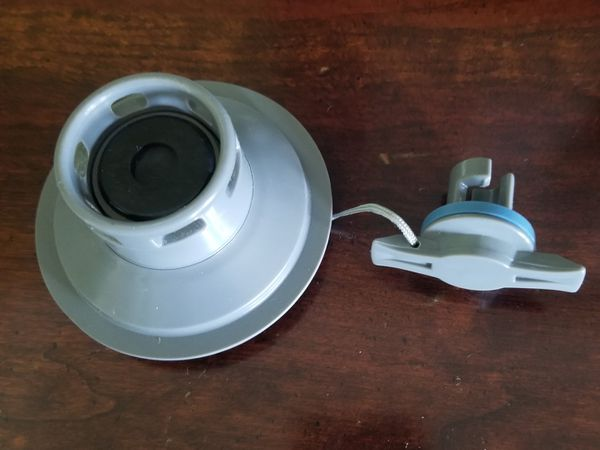 Replacement valve for Inflatable pontoon boat