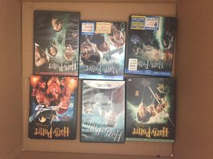 Harry Potter - six DVDs movies for Sale in Miami, FL