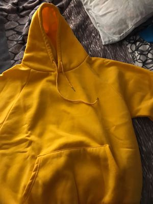 Brandless yellow hoodie for Sale in Austin, TX