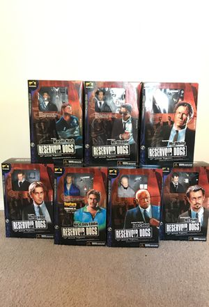 RESERVOIR DOGS 12 INCH ACTION FIGURES. FULL SET. **EXTREMELY RARE** for Sale in Morrisville, NC