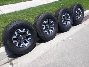 """16"""" TOYOTA TACOMA TRD RIMS AND TIRES for Sale in Fontana, CA"""