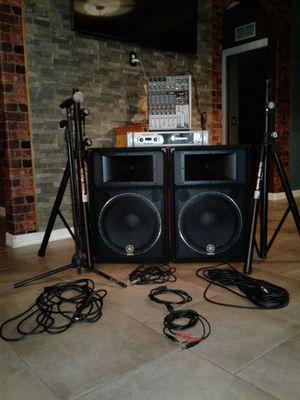 Dj equipment for Sale in Houston, TX
