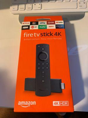 Fire Tv Stick 4K for Sale in Takoma Park, MD